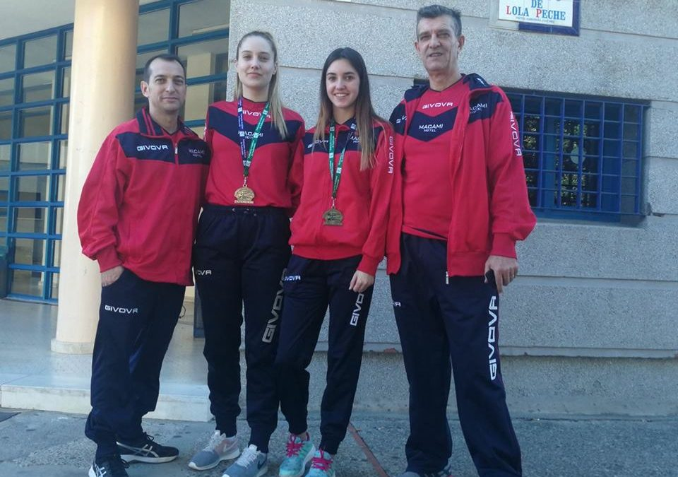 Taekwondo: campeonato de Andalucía senior en Algeciras. 11 noviembre 2017.