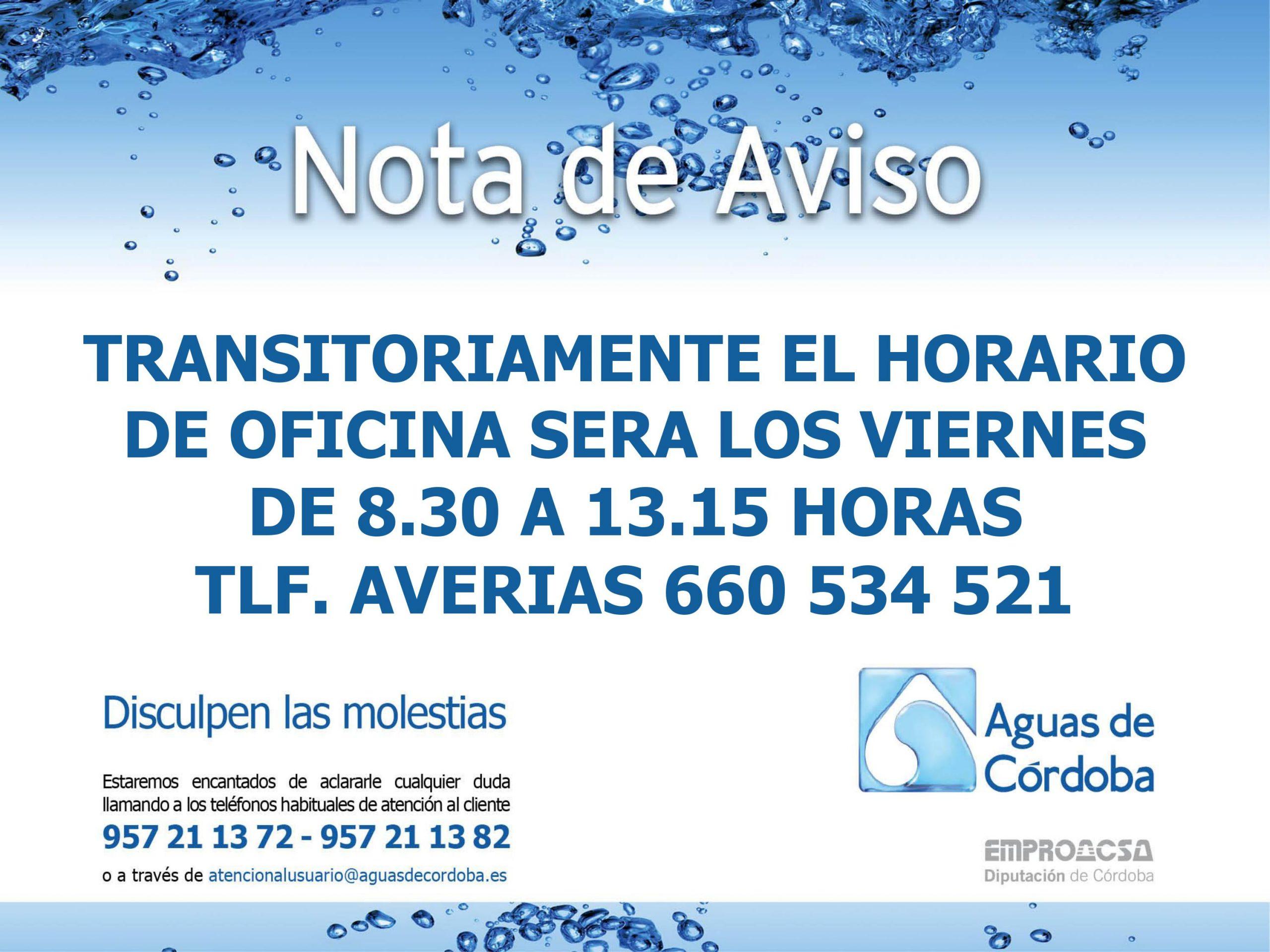 EMPROACSA (Aguas de Córdoba) 1