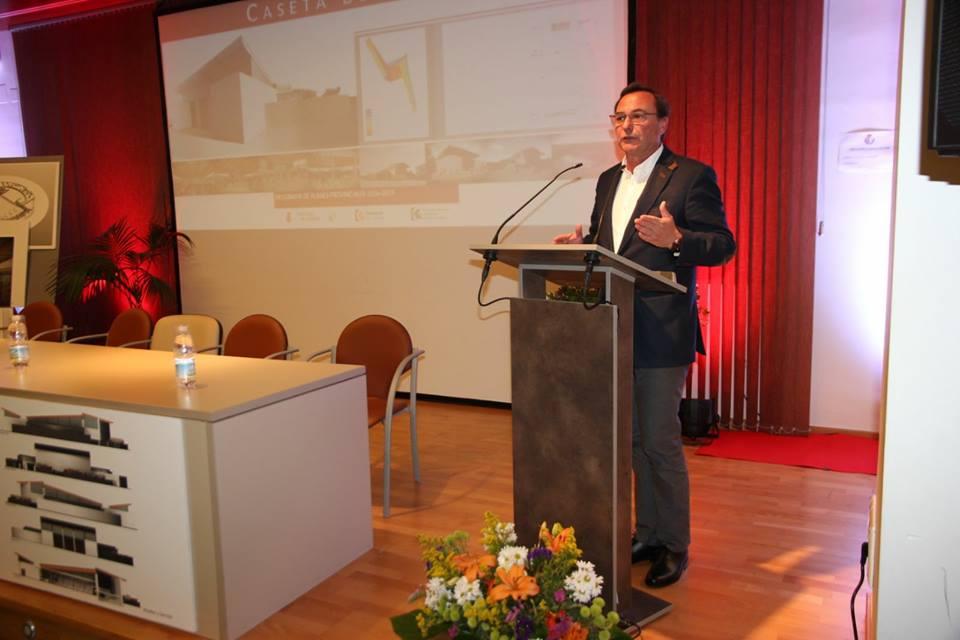 Presentación Proyecto Caseta Municipal de Villafranca