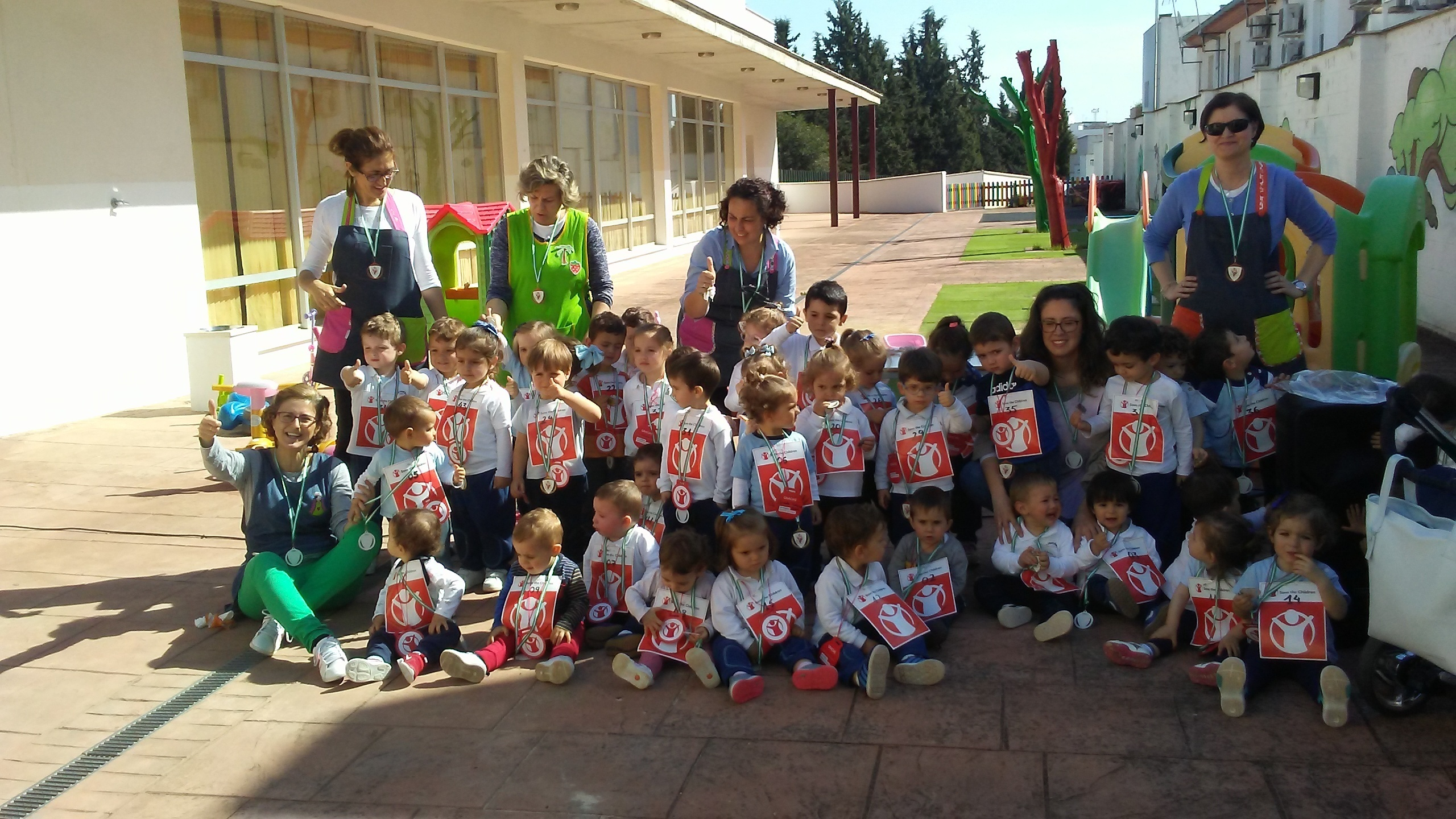 Carrera Solidaria Escuela Infantil Municipal 1