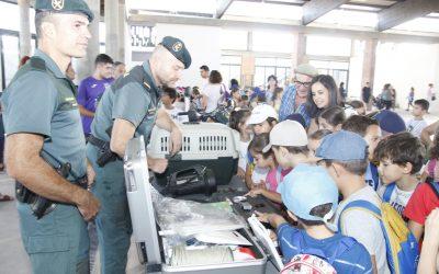 Exhibición especialidades Guardia Civil